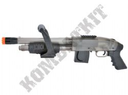 Mossberg Chainsaw BB Gun Pump Action M590 Shotgun 2 Tone Black & Clear Official Model